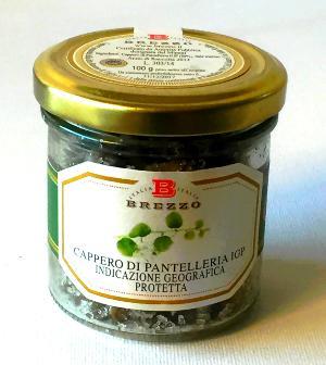 BREZZO Câpres de Pantelleria IGP au sel marin 100 gr