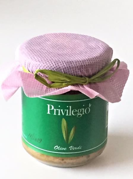 ANTICO COLLE FIORITO Crème d'olive verte BIO 200 gr