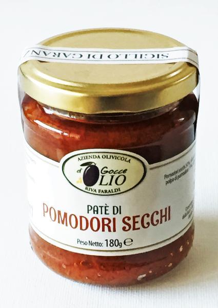 GOCCE d'OLIO Crème de tomates séchées 180 gr