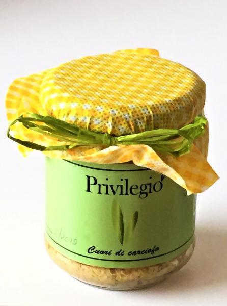 ANTICO COLLE FIORITO Crème de coeur d'artichaut BIO 200 gr