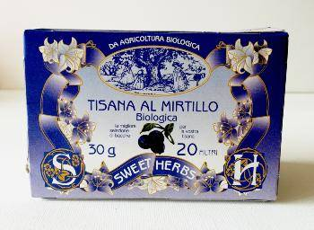 BREZZO Tisane BIO à la myrtille
