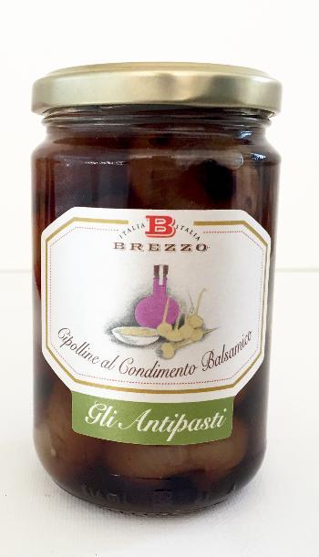 DEMETRA Oignons doux au vinaigre balsamique 300 gr