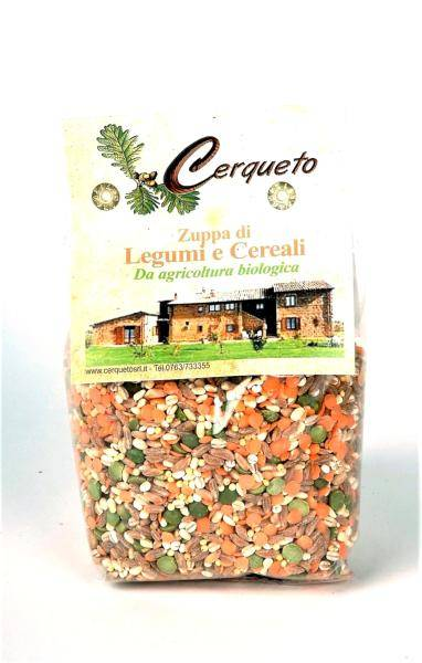 CERQUETO Soupe de légumes et céréales BIO 300 gr