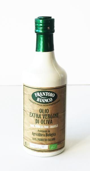 FRANTOIO BIANCO Huile d'olive Taggiasca BIO 50 cl