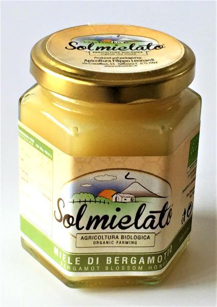 SOLMIELATO Miel de bergamote BIO 300 gr