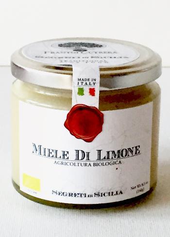 FRANTOI CUTRERA Miel de fleurs de citronnier de Sicile BIO 250 gr