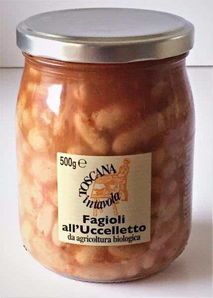 MULINO MARINO Haricots cuits à la tomate BIO 500 gr