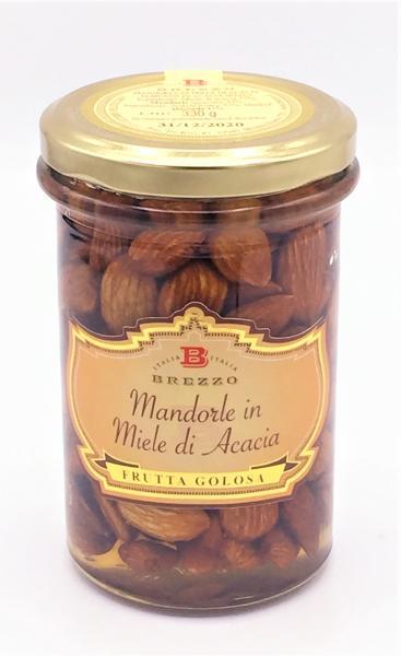 BREZZO Amandes au miel d'acacia 330 gr