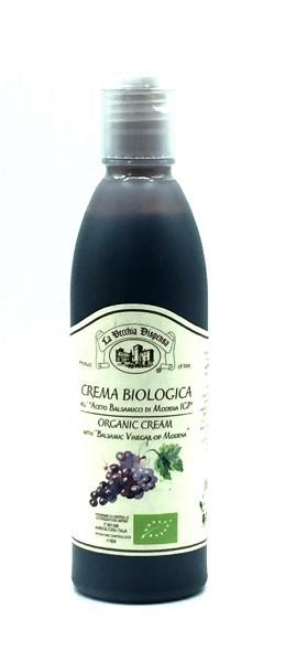 LA VECCHIA DISPENSA Crème vinaigre balsamique Modène BIO 25 cl