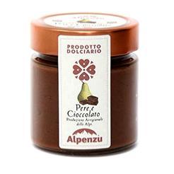 ALPENZU Crème poire et chocolat noir 270 gr