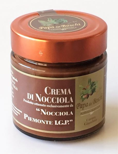 PAPA DEI BOSCHI Pâte à tartiner chocolat /noisettes Piémont 250 gr