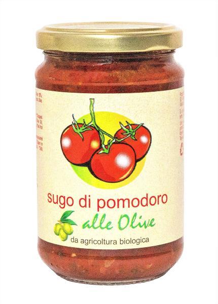 TOSCANA IN TAVOLA Sauce tomate aux olives BIO 290 gr