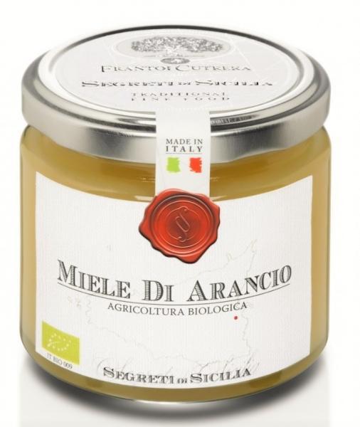 FRANTOI CUTRERA Miel de fleurs d'oranger de Sicile BIO 250 gr