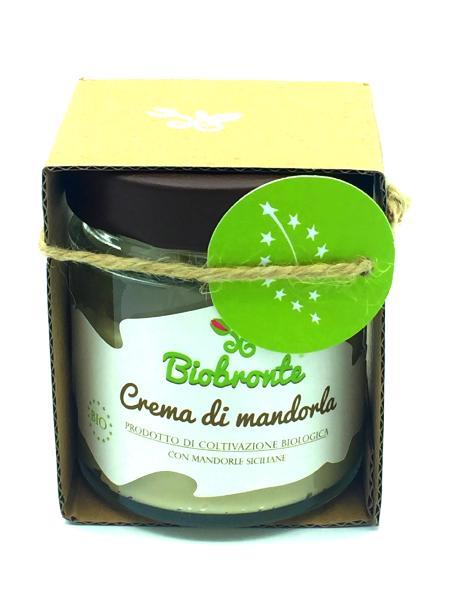 'A RICCHIGIA Crème d'amande de Sicile BIO 150 gr (date dépassée)