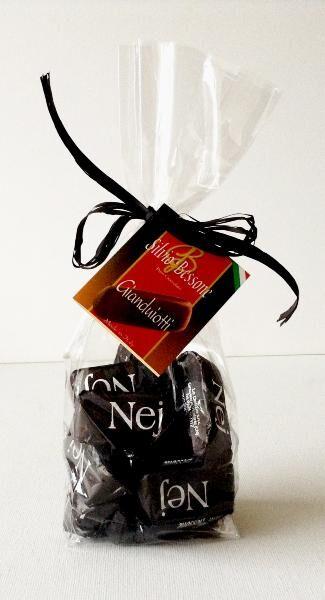 SILVIO BESSONE Giandujotti artisanaux chocolat noir 250 gr
