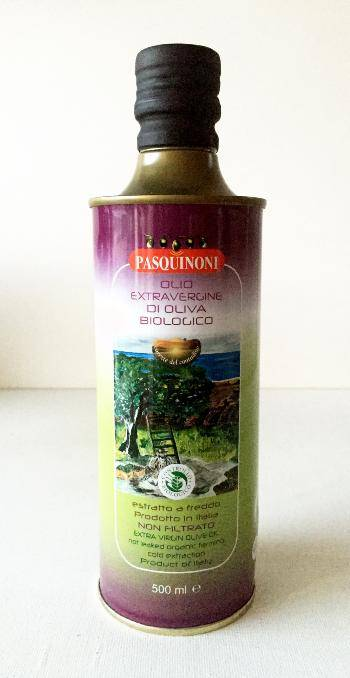 PASQUINONI Huile d'olive Emilie-Romagne BIO 50 cl