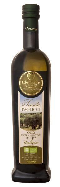 CLEMENTE Huile d'olive Pouilles Gargano BIO 75 cl