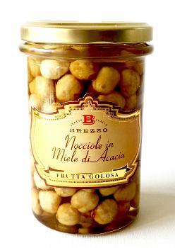 BREZZO Noisettes toastées au miel d'acacia 350 gr