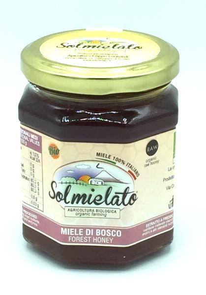 SOLMIELATO Miel de miellat de forêt BIO 300 gr