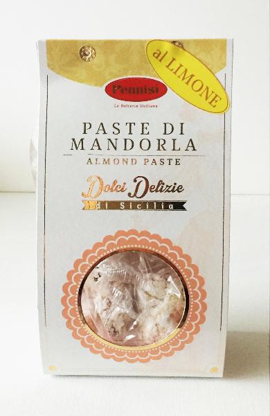PENNISI Biscuits siciliens pâte d'amande/citron 250 gr