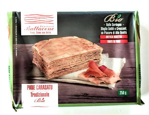 PANIFICIO BATTACONE Pain Carasau traditionnel BIO 250 gr