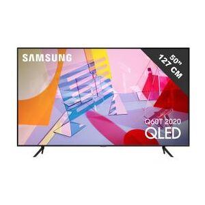 SAMSUNG Téléviseur 4K 50 125 cm SAMSUNG QE50Q60TAUXX 50' noir - Publicité