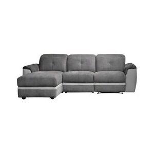 BUT Canapé d'angle gauche ZEN relax Gris - Publicité