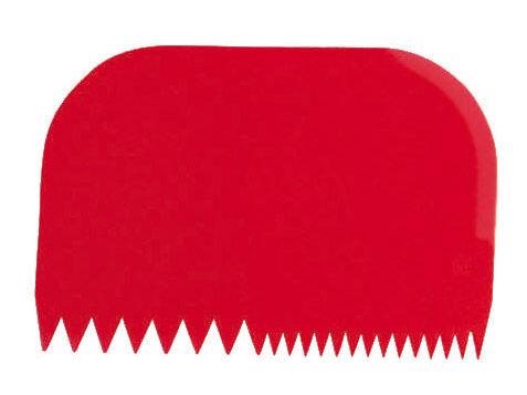 Paderno Coupe-pâte décoratif - Rectangulaire - 14,5cm x 9,9cm - Polypropylène - Coupe-pâte - Paderno