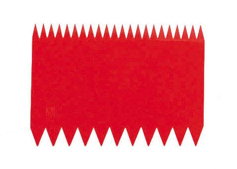 Paderno Raclette décorative - Rectangulaire - 11cm x 8cm - Polypropylène - Coupe-pâte - Paderno