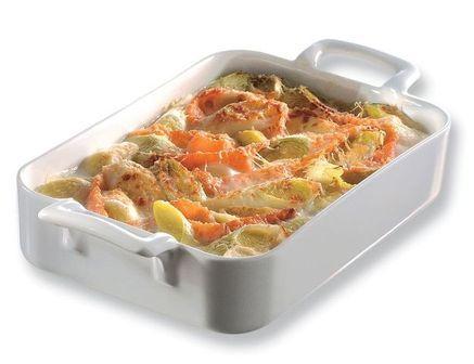 Revol Plat rectangulaire blanc 34x25cm - Belle Cuisine - Revol