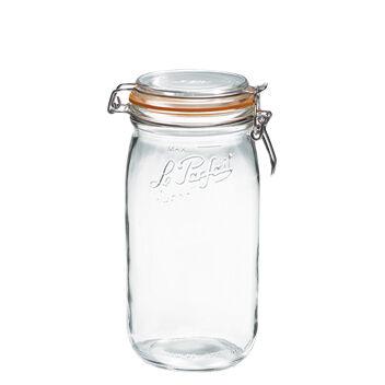 Le Parfait Bocal hermétique en verre 1,5L joint 85mm - Super - Le Parfait
