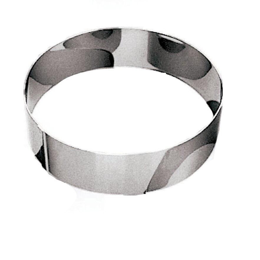 Gobel Cercle à vacherin en inox 18/10 - hauteur 6 cm - diamètre 30 cm - A l'unité - Cercle à vacherin - Gobel