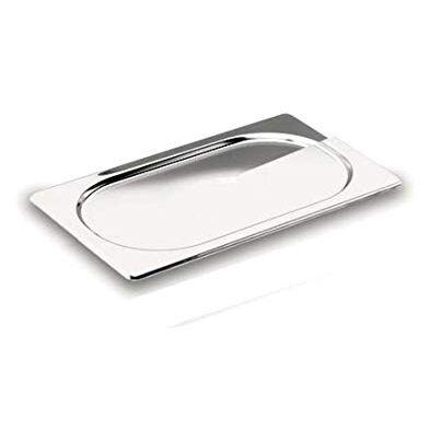 Lacor Couvercle plat GN 1/6 en inox 18/10 17.6 x 16.2cm - Gastronorme - Lacor