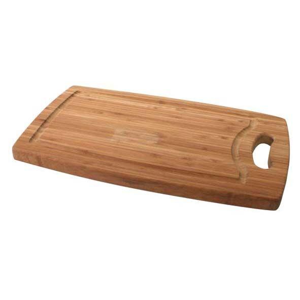 Cosy & Trendy Planche à découper à rigole en bambou 35,5cm x 21cm x 1,8cm - Planche en bois - Cosy & Trendy