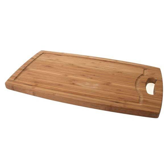Cosy & Trendy Planche à découper à rigole en bambou 42cm x 24cm x 1,8cm - Planche en bois - Cosy & Trendy