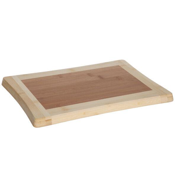 Cosy & Trendy Planche à découper en bois de bambou 33cm x 23cm x 1,8cm - Benin - Cosy & Trendy