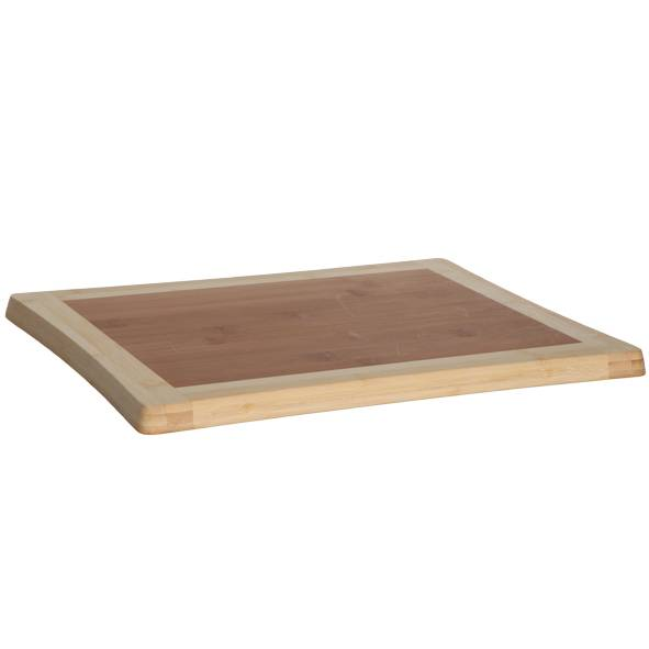 Cosy & Trendy Planche à découper en bois de bambou 39cm x 30cm x 1,8cm - Benin - Cosy & Trendy