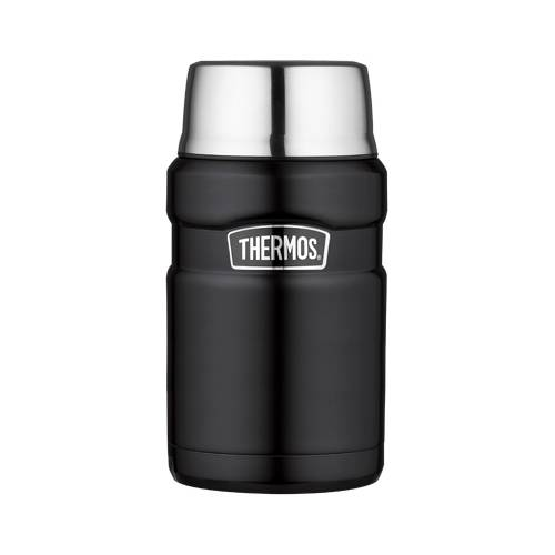 Thermos Porte aliment isotherme 71cl noir mat - King - Thermos