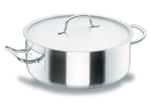 Lacor Faitout induction avec couvercle inox 18/10 - Ø 32 cm - Chef Classic - Lacor