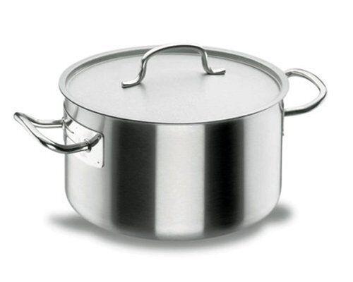 Lacor Marmite braisière induction avec couvercle inox 18/10 - Ø 20 cm - Chef Classic - Lacor