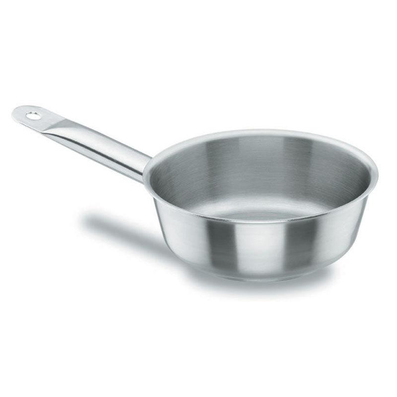 Lacor Sauteuse conique en inox 18/10 - Ø 24 cm - Chef Classic - Lacor
