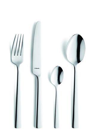 Amefa Couteau à dessert forgé inox 18/10 de 2,5mm finition miroir - Lot de 6 - Moderno - Amefa