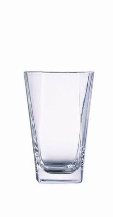Arcoroc Gobelet forme haute - verre longdrink 35cl - Lot de 12 - Prysm - Arcoroc