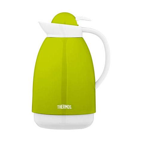 Thermos Carafe isotherme inox 1L verte et blanche - Patio - Thermos