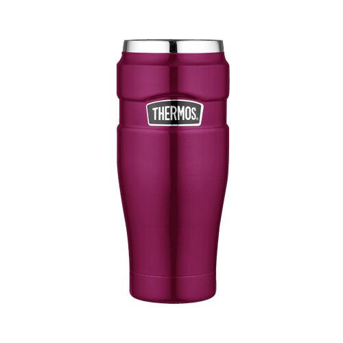 Thermos Mug tumbler isotherme sans poignée 47cl framboise - King - Thermos