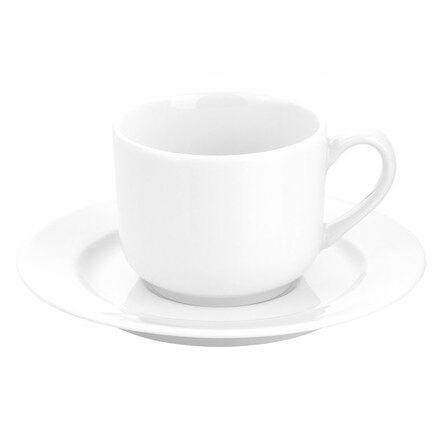 Pillivuyt Soucoupe à thé blanche 15cm en porcelaine - Sancerre - Pillivuyt