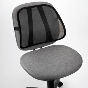 Dossier ergonomique pour siège de bureau - Publicité