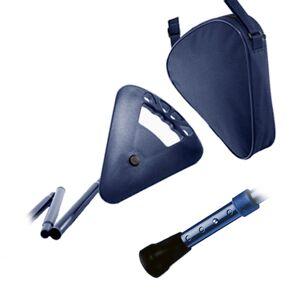 FLIPSTICK Canne siège bleue pliante ajustable Flipstick - Publicité