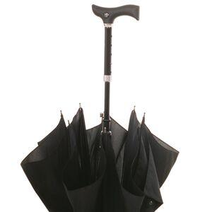 FAYET Canne parapluie réglable noire - Publicité
