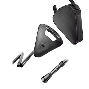 FLIPSTICK Canne siège noire pliante ajustable Flipstick - Publicité